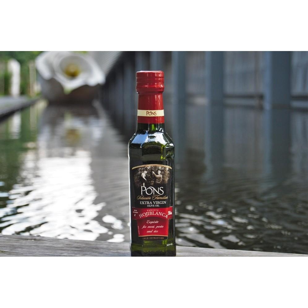 龐世Pons 歐希布隆卡特選冷壓初榨橄欖油750ml 2 耐溫210 ~單品種初榨~風味甘