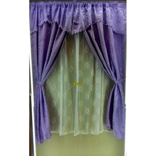 Diy 穿桿式窗簾超多款窗簾下單時聊聊 貨色歐