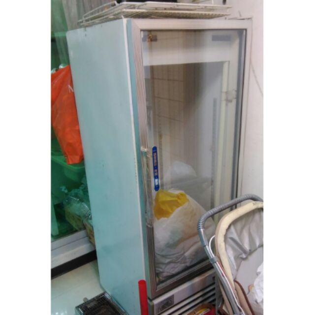 生意用冷藏玻璃展示冰箱