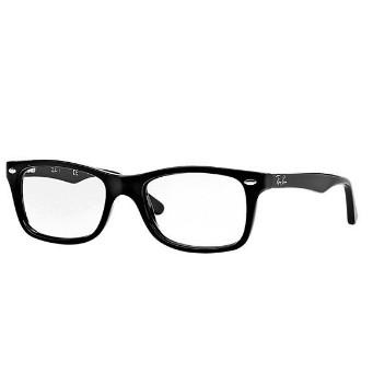 雷朋RAYBAN Ray Ban RB5228 眼鏡光學鏡框黑色透明鏡片墨鏡黑框鏡框