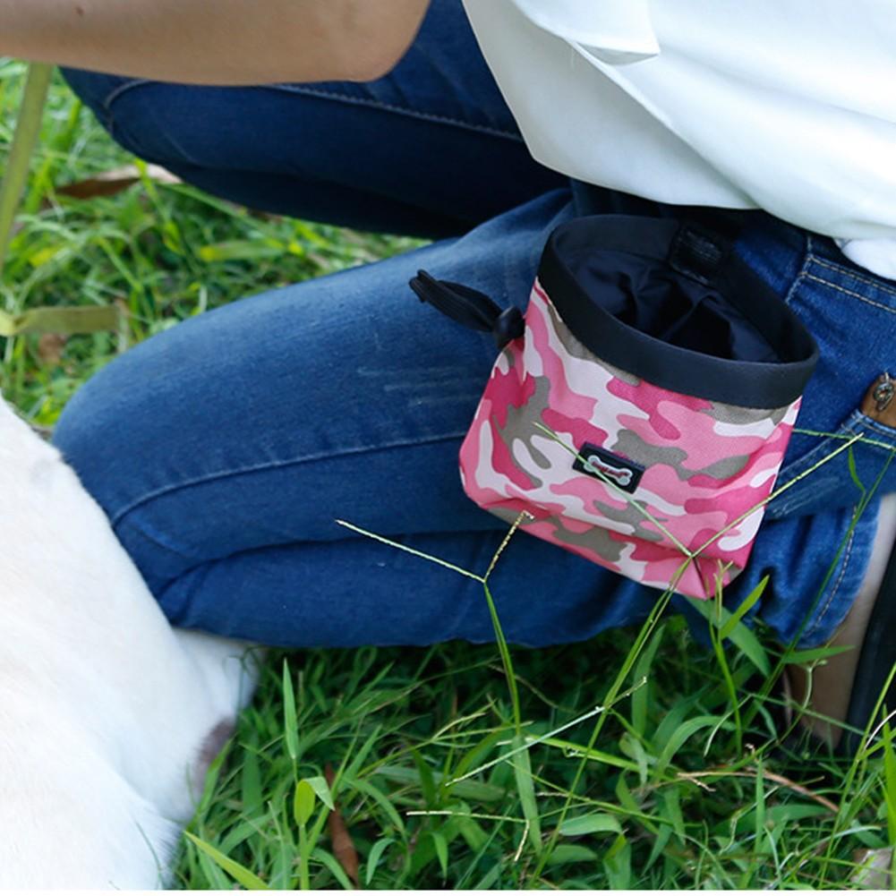 迷彩寵物訓練腰包外出零食袋多 戶外遛狗腰包垃圾袋