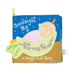 Goodnight my sweet pea 美國Manhattan Toy 軟布書晚安豌