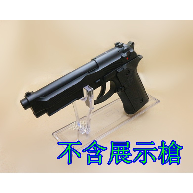 WLder 壓克力手槍槍架展示架玻璃櫃櫥窗BB 槍玩具槍短槍模型槍競技拍照攝影