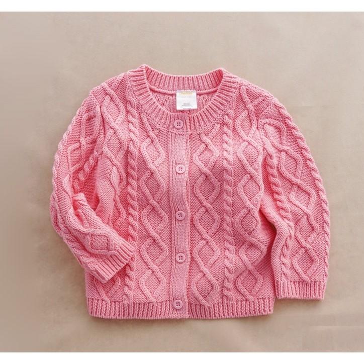 零碼 ✨美國女童麻花針織外套
