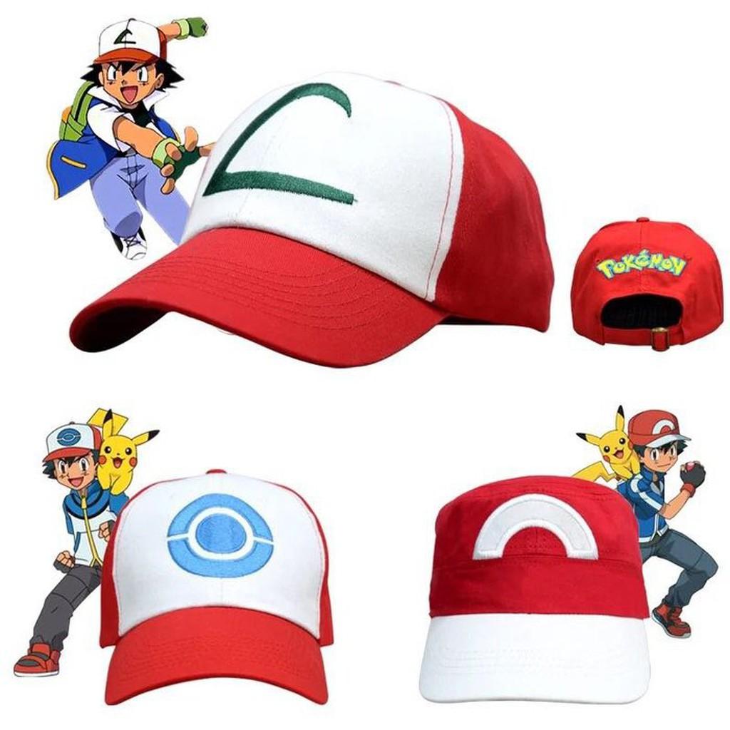 Pokemon Go 寶可夢棒球帽子皮卡丘寵物小精靈神奇寶貝小智同款鴨舌帽卡比獸聖誕 生日