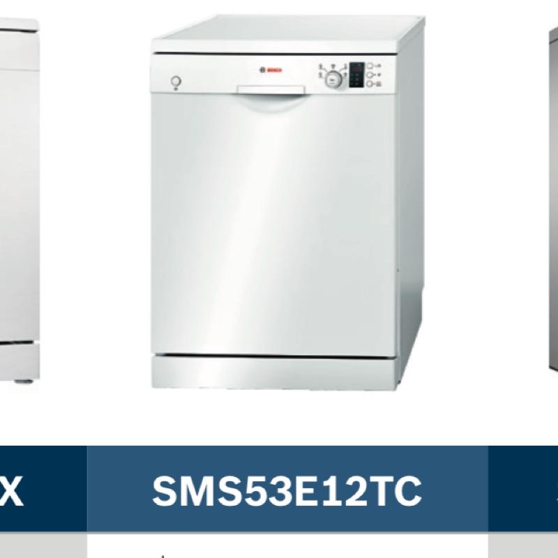 BOSCH 13人份獨立式洗碗機 SMS53E12TC 詢問請私訊我