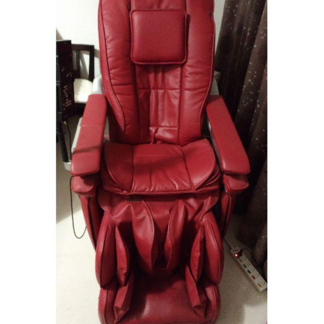 OSIM uPilot os-7600 紅色按摩椅