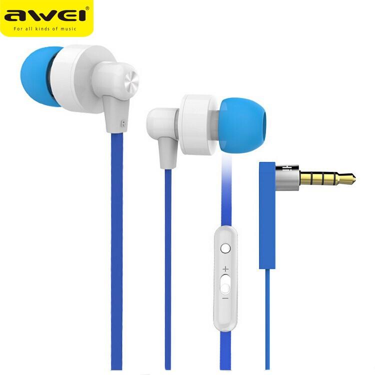 ~ 不用等~Awei 用維710hi 入耳式金屬重低音線控監聽hifi 耳機面條 耳機3D