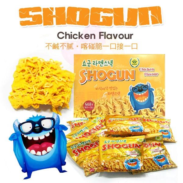 韓國SHOGUN 怪獸香脆雞汁點心麵隨手包一盒30 包~ ~~In Style ~