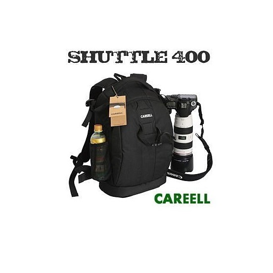 Shuttle 400 攝影後背包單眼雙肩可掛腳架lowepro flipside 400