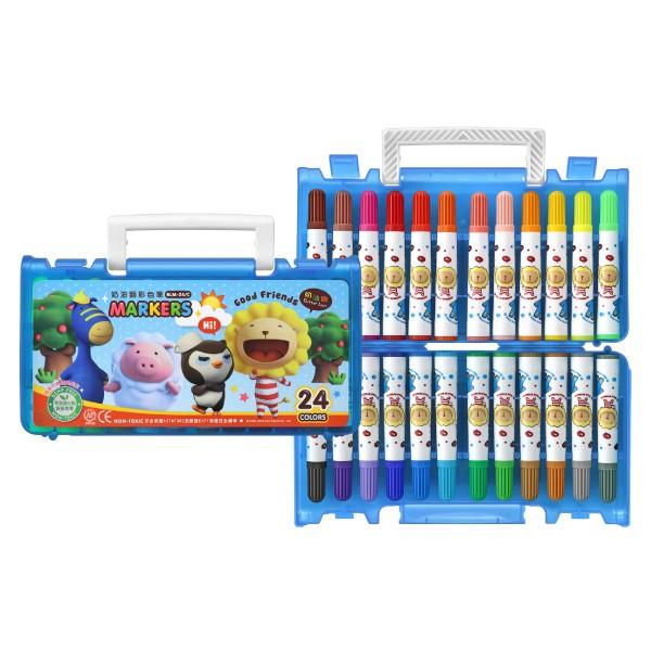 雄獅奶油獅24 色彩色筆BLM 24B 著色筆繪圖用品美術用品