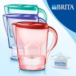 2 4 公升~Brita ~濾水花漾壺馬拉利Marella 紅、綠、紫~含濾芯濾心x1 ~