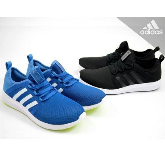 ~Adidas CC FRESH BOUNCE W 愛迪達黑白無車縫女鞋慢跑鞋AQ3128