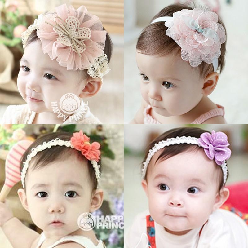 ~amy 愛飾~韓國寶寶發帶發飾嬰幼兒頭飾頭花嬰兒童頭帶可愛女童發箍公主飾品