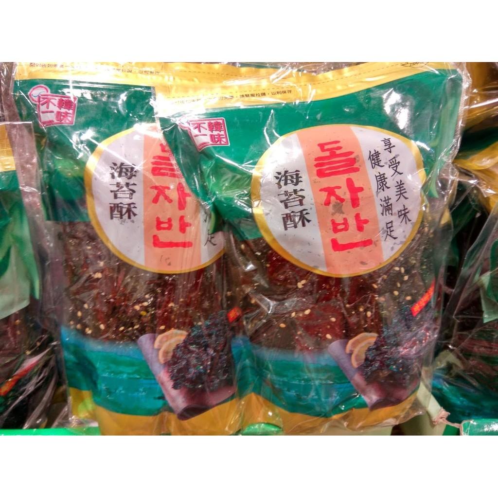 蝦皮99  115 元好市多韓味不二現烤海苔酥80g 1 包
