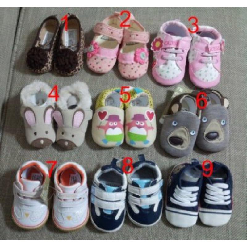 多款寶寶鞋、學步鞋零碼