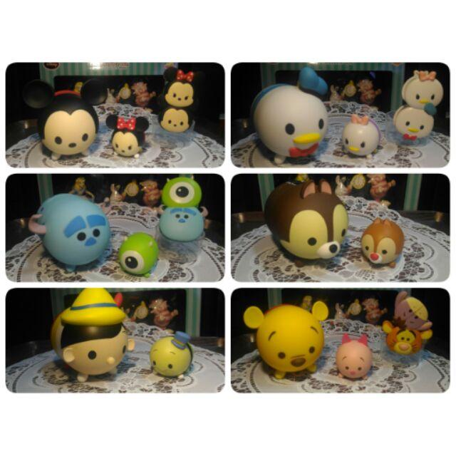 全家迪士尼Tsum 存錢筒磁鐵夾子小木偶玩具總動員維尼怪獸電力 冰雪奇緣米奇唐老鴨奇帝