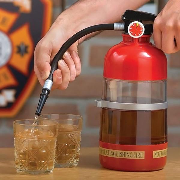 酒吧 滅火器飲水機迷你消防桶飲水機啤酒機單槍飲料KTV 酒具