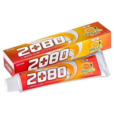 愛韓貨 車太賢代言韓國2080 Q10 維他命牙膏80g