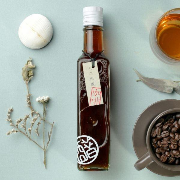 有機咖啡醋低卡路里醋飲營養健康醋純釀醋福釀坊