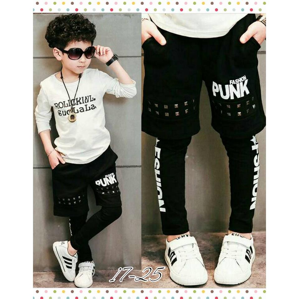 秋天 fashion punk 褲中褲