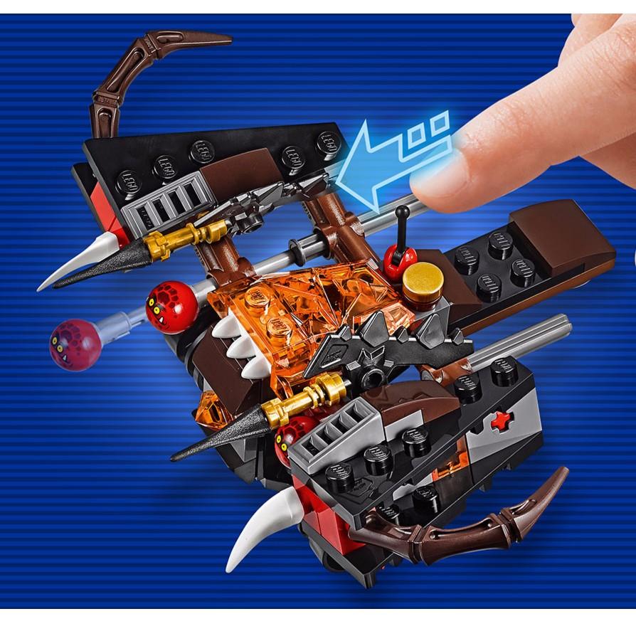 LEGO 樂高爆岩發射攻城車 單售70318 NEXO 未來騎士