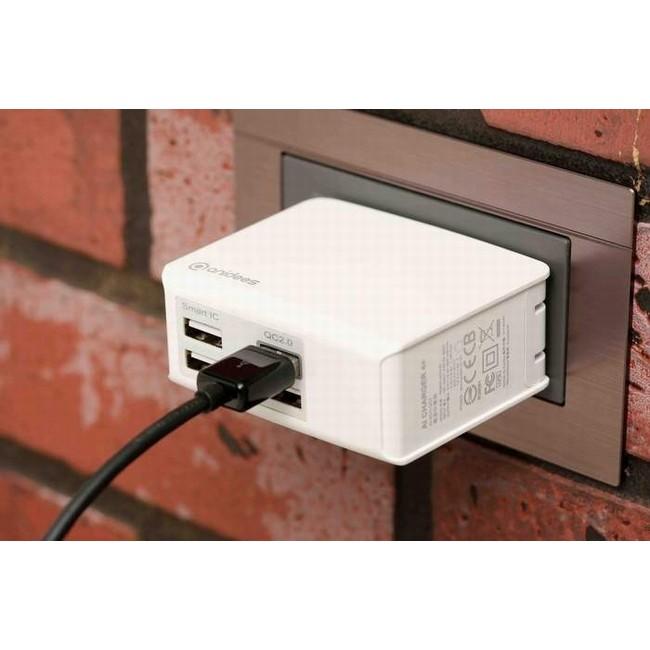 安億迪anidees QC2 0 AI Charger 4 摺疊頭USB 充