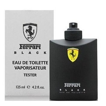 ~小敏廣場~Ferrari Black 黑色法拉利男香125ml ~TESTER 包裝~