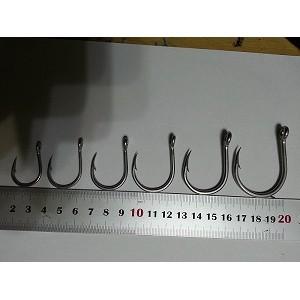 漁線王鐵板鉤鐵板鈎白鐵勾KEVLAR 綁鉤線防咬線特級尼龍線含碳磅線大物鉤100 元起