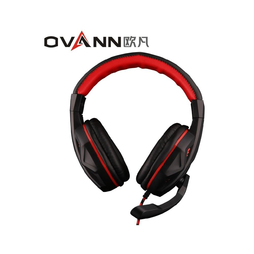 M04 歐凡ovann X2 耳罩式耳機電競耳機重低音渾厚音質耳麥語音耳機輕量化