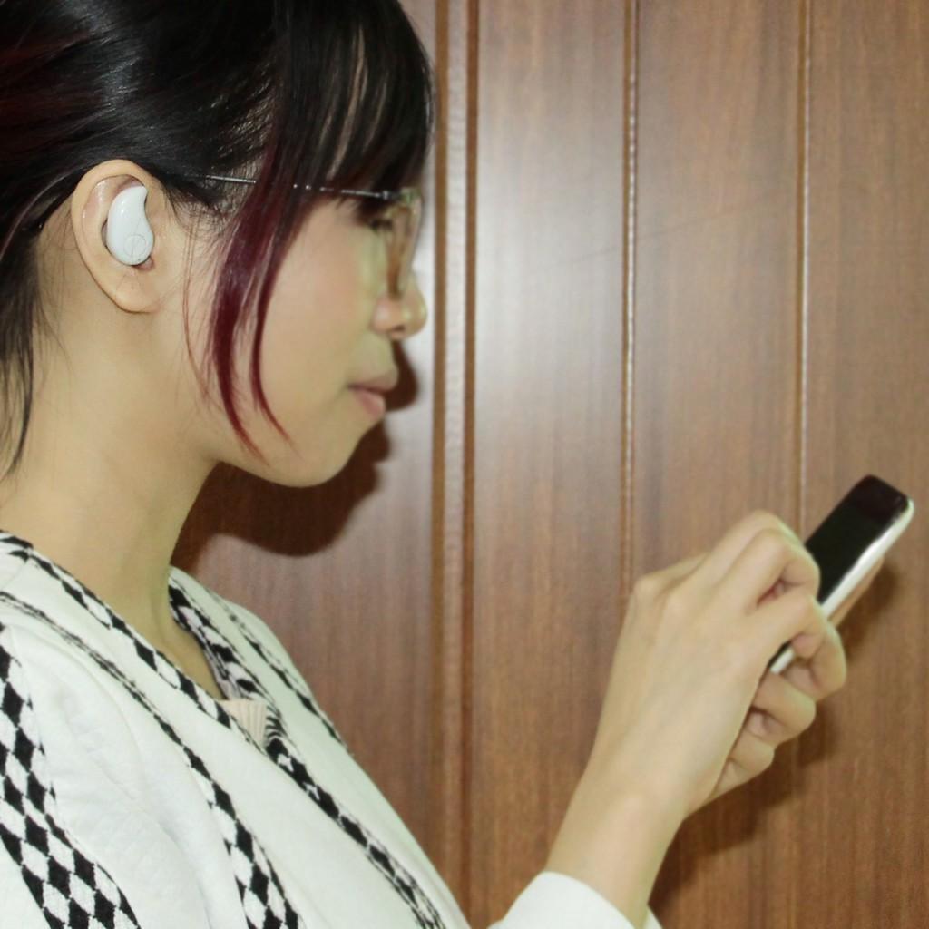 S530 無線藍牙耳機超小迷你隱形藍牙4 0 跑步 音樂耳塞式 白色