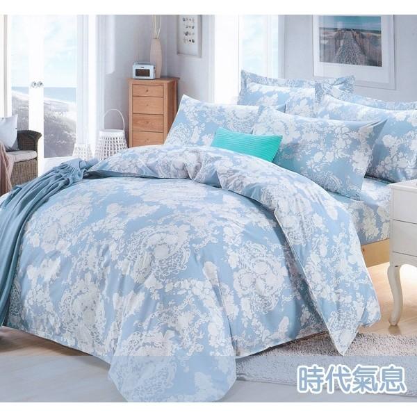 ~時代氣息~100 MIT 精製舒柔棉單人雙人加大薄床包涼被套組床包被套組鋪棉床包兩用被