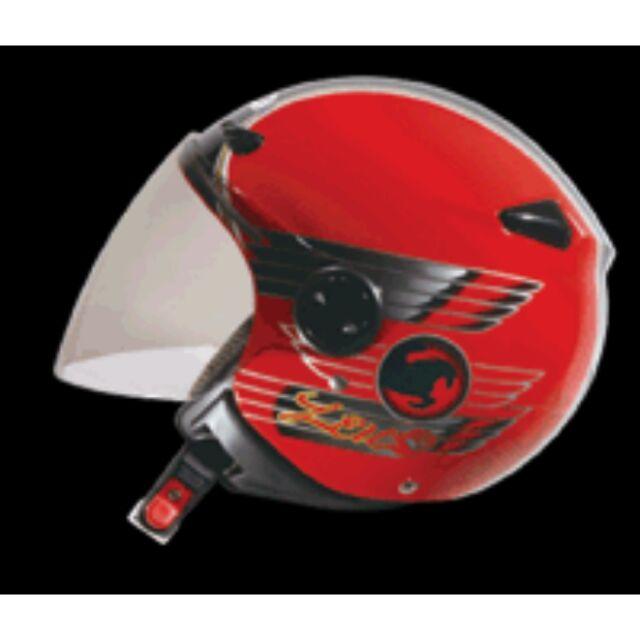ZEUS ZS 210B 大紅DD65 黑小帽體內襯全可拆洗輕薄短小卻包覆性極佳