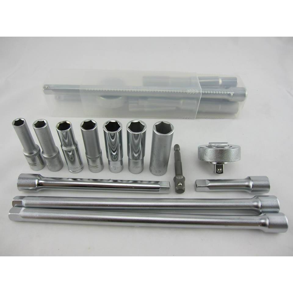 水龍頭或壓縮機拆裝工具組含收納盒共13 件