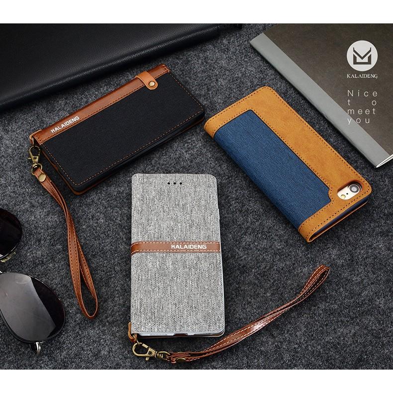 阿痞3C 卡來登亞麻系列皮套i Phone 6 6S 7 Plus 手機皮套插卡皮套保護套