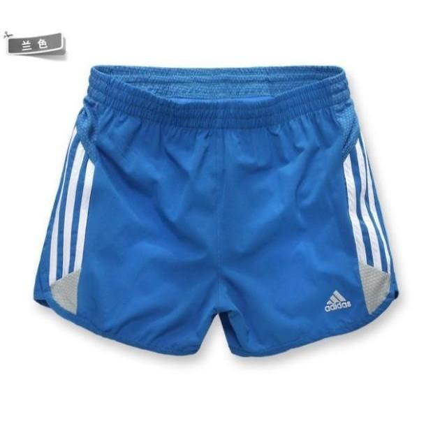 adidas 輕盈速干單層透氣三分褲男馬拉松田徑 短褲男