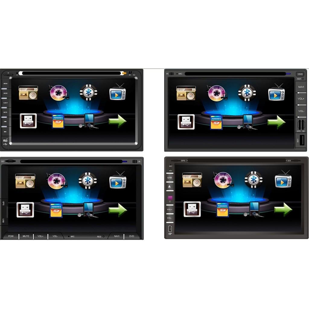 出貨6 95 吋多 汽車音響主機2DIN 繁體觸控螢幕MP3 雙碇機大面板主機讀卡機非安卓