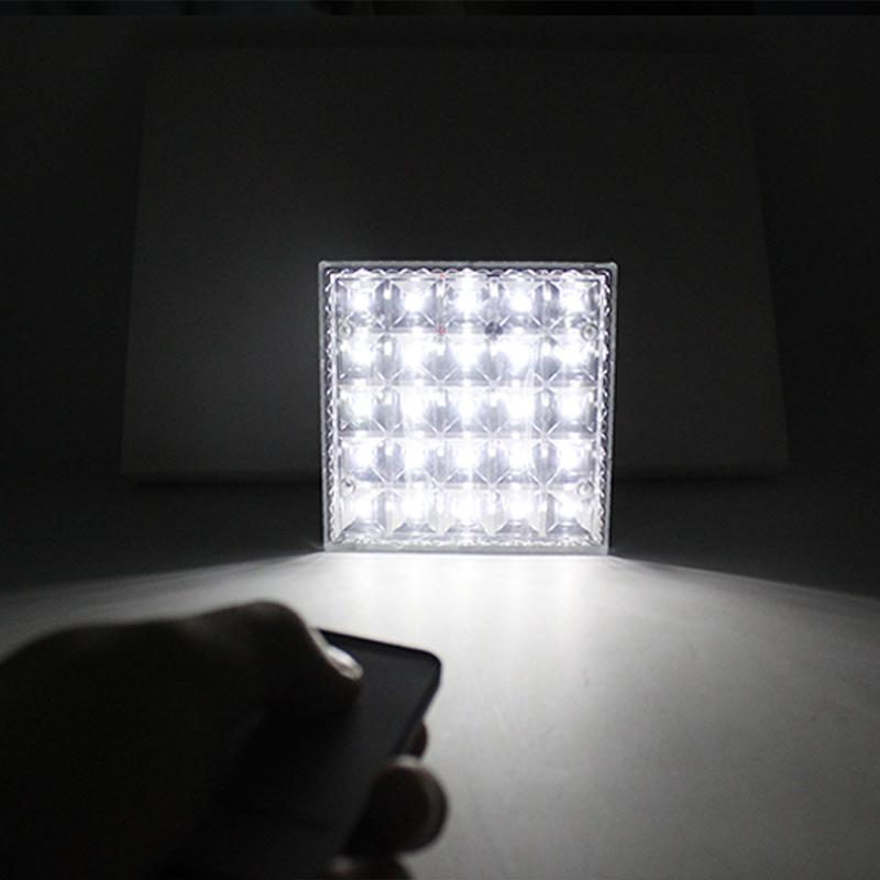 升級版太陽能燈遙控燈可給手機充電25LED 多 野營燈分體式燈具A0369