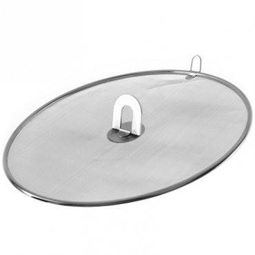 美樂煎魚防油噴 網可透視鍋內食物熟度掌控自如油炸鍋平底鍋炒鍋