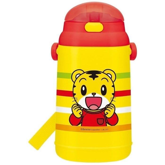 SKATER 阿卡將巧虎巧連智兒童吸管彈蓋式水壺吸管冷水壺水瓶背帶