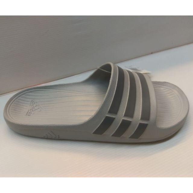 Adidas 正品 拖鞋 貨 款愛迪達Duramo 防水一體成型黑淺灰G15890 B44