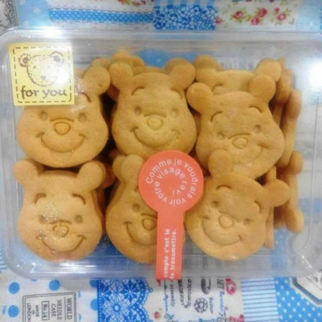 ~ 餅乾~小熊維尼奶油餅乾巧克力維尼或抹茶維尼
