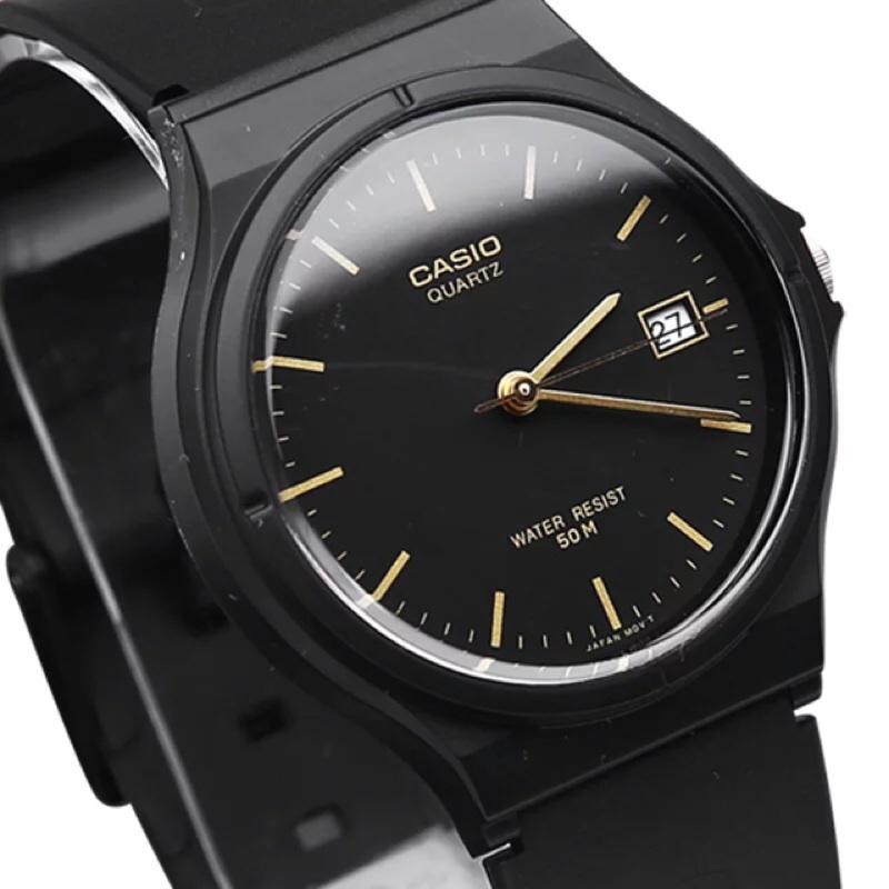 CASIO 卡西歐暢銷第一名復古簡約男女兼用極簡 日期顯示國家考試學測統測 指針式石英錶