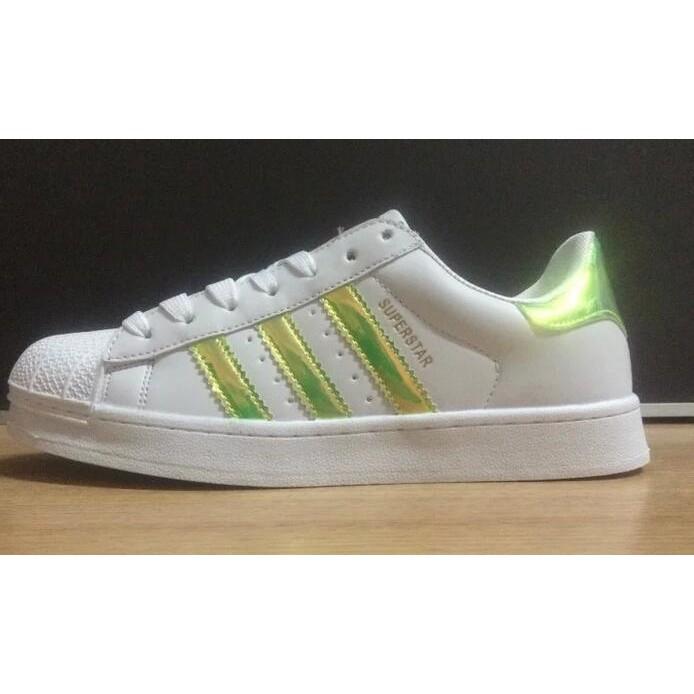adidas Superstar 三葉草金標板鞋小白鞋休閒鞋愛迪達貝殼頭男鞋