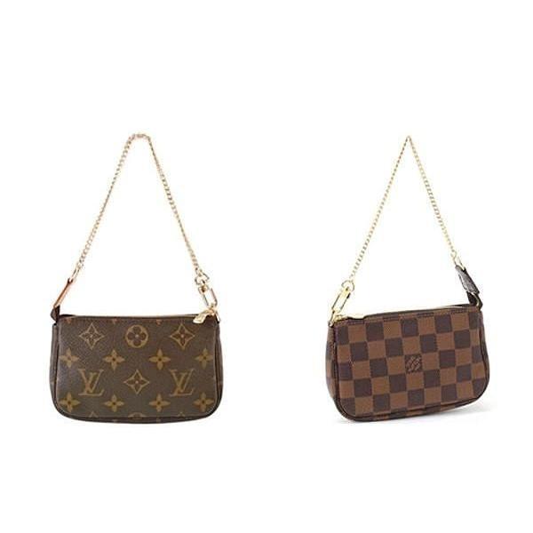 Louis Vuitton LV M58009 N58009 鍊子包小LV 斜挎包單肩包L