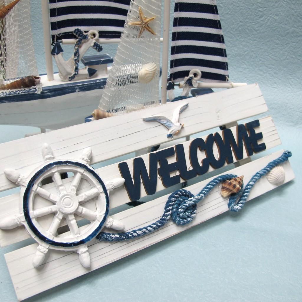 ~樂提小舖~06074 海洋 板 迎賓板海島風飾品海洋風飾品水手風海洋風佈置民宿擺飾水手風