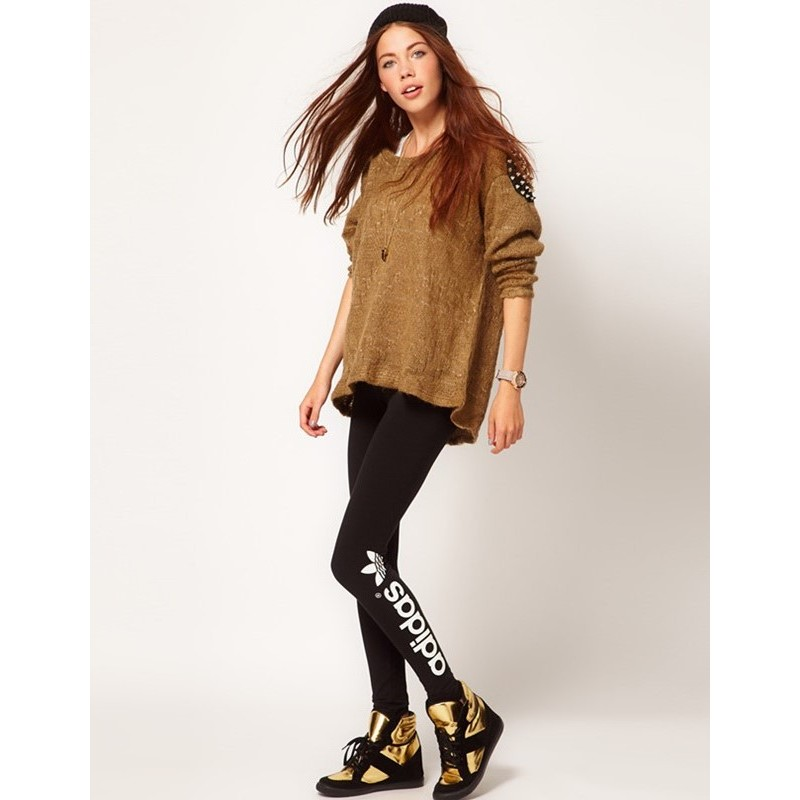 ~ 速發~Adidas 范冰冰代言 內搭緊身褲瘋路跑 健身訓練有氧瑜珈小腿款