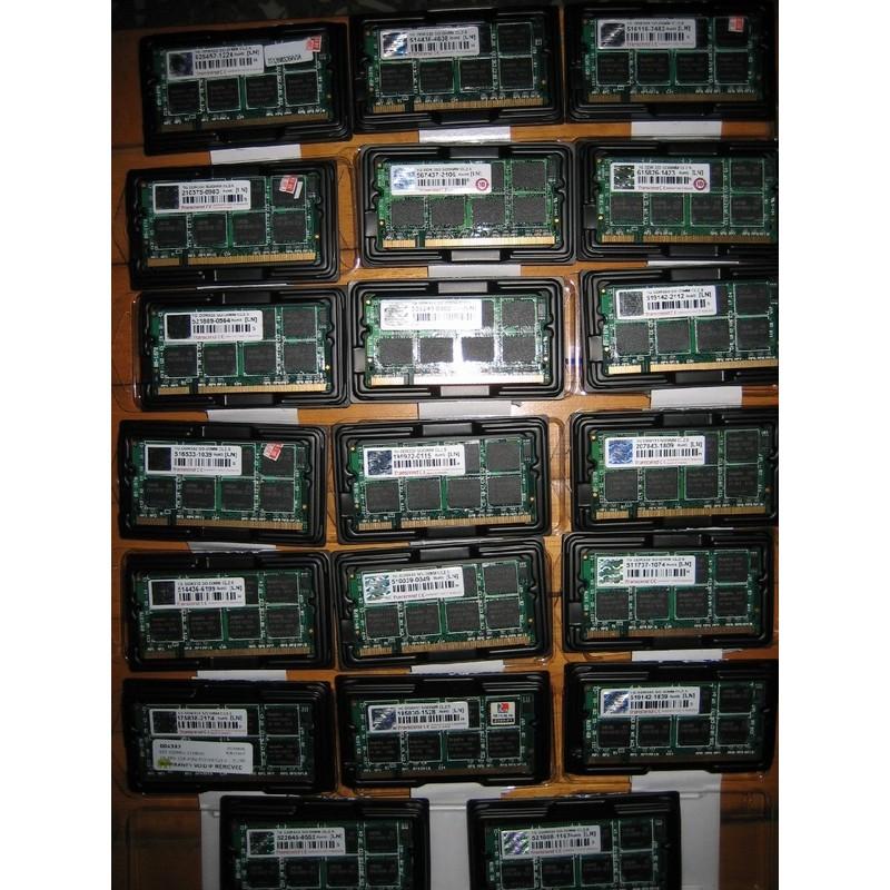 創見transcend 筆電NB SO DIMM DDR333 DDR400 1GB 1G