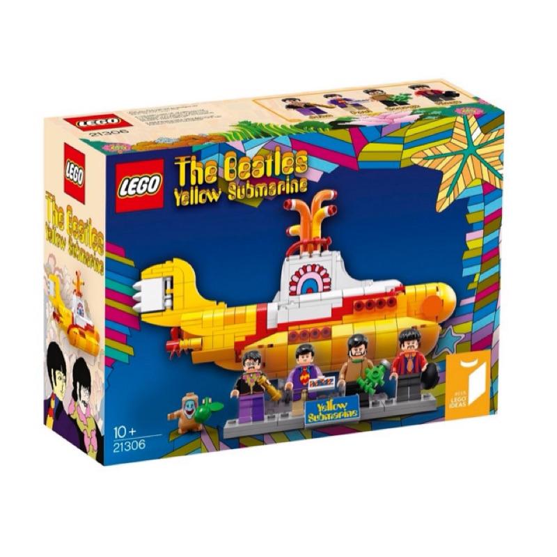 必爛盒Lego 21306 The Beatles Yellow Submarine 樂高
