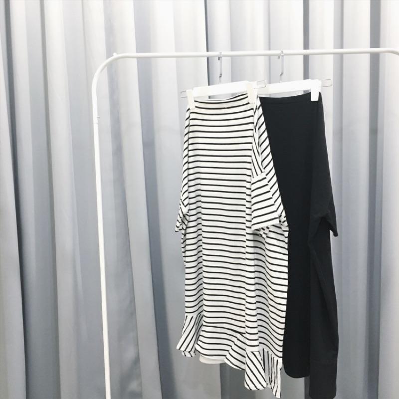 M 一字領連身長裙2 色